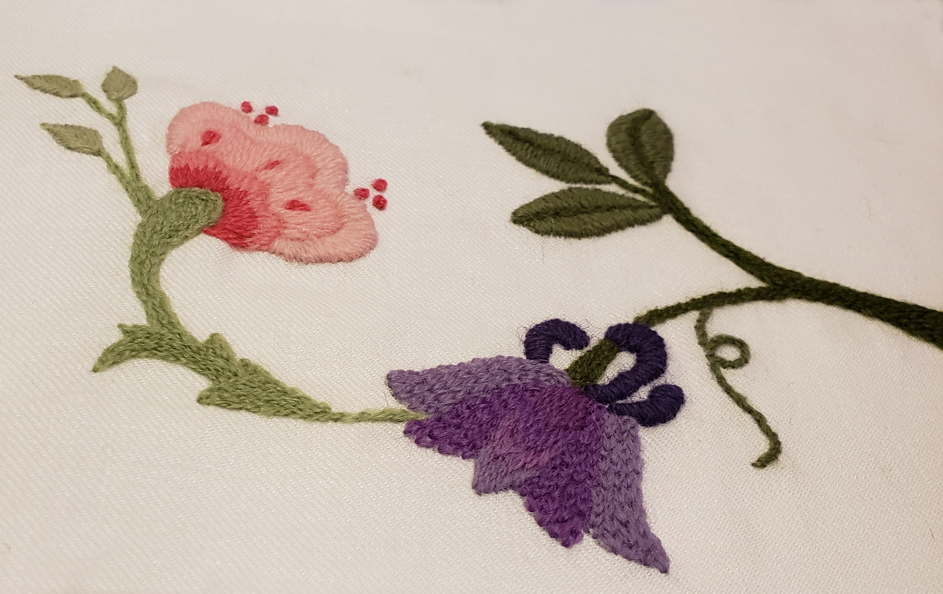 102 Basic Crewel Embroidery