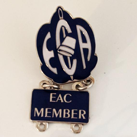 EAC Pin with Member Dangler