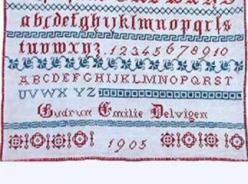Heritage Sampler – 1905 Norwegian